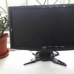 """Мониторы - Монитор Acer G195HQVB 18.5""""/1366x768 Пикс, 0"""