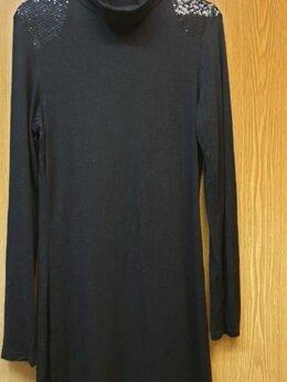 Платья - Туника/Платье с пайетками на плечах, 0