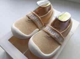 Обувь для малышей - Пинетки Komuello Flat Beige, Корея, 0