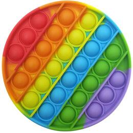 Игрушки-антистресс - Вечная пупырка антистресс Поп Ит пузырь Bubble Fidget круг, 0
