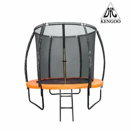 Каркасные батуты - Батут DFC KENGOO II 10ft (305cм) 10FT-BAS-BO, 0