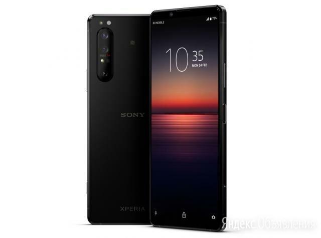Sony Xperia 1 II 8/256 Black - Новый - Гарантия по цене 68990₽ - Мобильные телефоны, фото 0