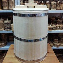 Бочки и купели - Бочка деревянная из кедра 75 литров. Бочка для воды, 0