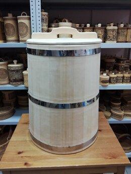 Бочки и купели - Бочка деревянная из кедра 75 литров. Бочка для…, 0