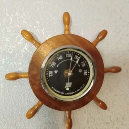 Климатизаторы - Барометр в деревянном корпусе в рабочем состоянии. Качество СССР. Рабочий, 0