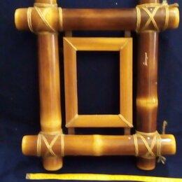 Фоторамки - Рамка для фото. Бамбук.33 х 33 см, 0