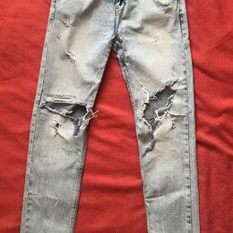 Джинсы - Джинсы Zara бойфренд (boyfriend jeans), 0
