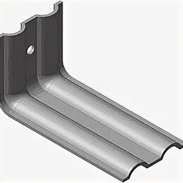 Уголки, кронштейны, держатели - Кронштейн КР 250х70х70х2,0 с отв 10 мм с п/п, 0
