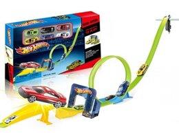 Машинки и техника - Автотрек Хот Вилс Супергерои, 0