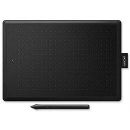 Графические планшеты - Графический планшет One by Wacom medium черный/красный (CTL-672-N), 0