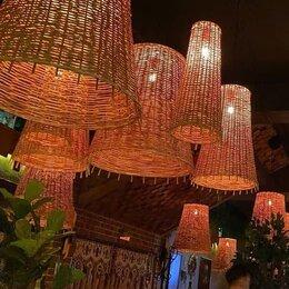 Люстры и потолочные светильники - Купить плетеные люстры для кафе ресторана, 0