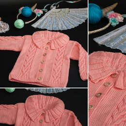 Джемперы и толстовки - детский свитер кардиган джемпер HAND MADE, 0