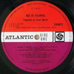 Виниловые пластинки - The Age Of Atlantic - Led Zeppelin, Yes, Iron Butterfly...LP 1970 UK - Пластинка, 0