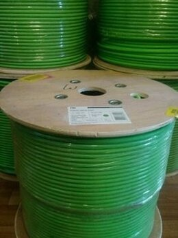 Кабели и разъемы - Кабель 6 категории F/UTP lszh iTK green, 0