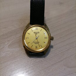 Наручные часы - Механические позолоченые часы!, 0