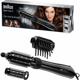 Фены и фен-щётки - Новая фен-щетка Braun satin hair 5 as530 mn, 0