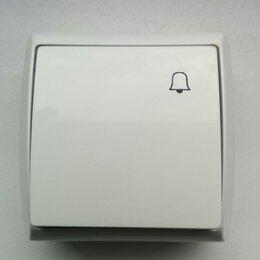 Электроустановочные изделия - кнопка звонка, 0