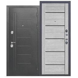 Входные двери - 10 см Троя Серебро Дымчатый дуб, 0