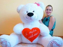 Мягкие игрушки - Плюшевый медведь 160 см с сердцем, 0