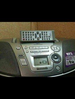 Музыкальные центры,  магнитофоны, магнитолы - Panasonic RX-ES23(б.у.мп.3.отличное состояние), 0