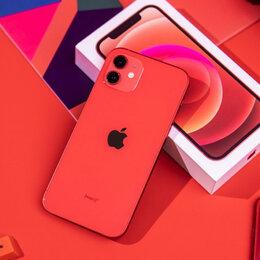 Мобильные телефоны - iPhone 12 mini Red 64gb новые Ростест, 0