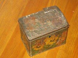 Ёмкости для хранения - Банка из под чая жесть до 1917 г., 0