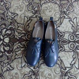 Туфли - Полуботинки женские 39 размер, 0