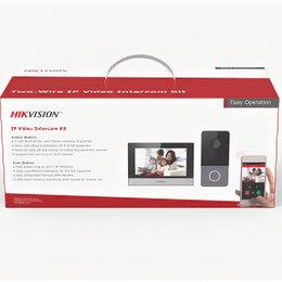 Системы Умный дом - IP-комплект видеодомофонии DS-KIS603-P Hikvision., 0