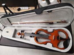 Смычковые инструменты - Новая электроскрипка Fabio F-002A, 0