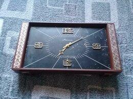 Часы настольные и каминные - Настольные механические часы молния СССР, 0
