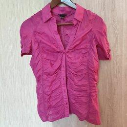 Блузки и кофточки - Летняя розовая блузка 44 размера, 0