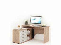 Столы и столики - Письменный стол Гарвард угловой 130x120 ЛВ, 0
