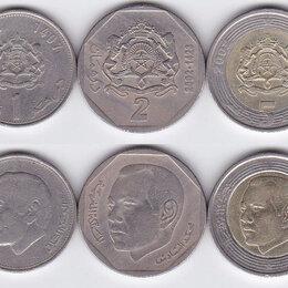 Монеты - Марокко набор монет, 0