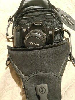 Пленочные фотоаппараты - Пленочный фотоаппарат canon EOS 3000 с чехлом, 0