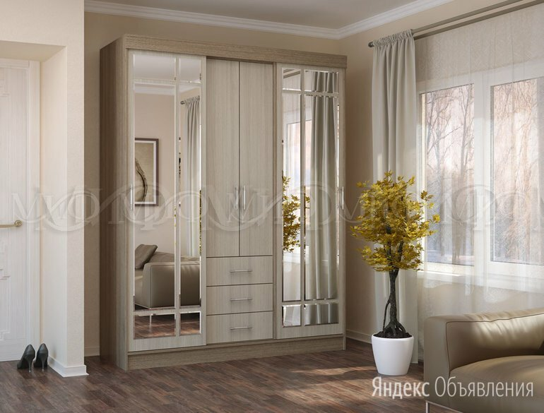 Шкаф-купе Маэстро по цене 14600₽ - Шкафы, стенки, гарнитуры, фото 0