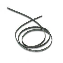 Принтеры и МФУ - Зубчатый ремень GT2-6, черный, нейлоновый корд,…, 0