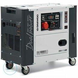 Электрогенераторы - Дизельный генератор Daewoo DDAE 10000DSE-3, 0