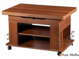 Столы и столики - Журнальный стол-трансформер  Агат 23 орех пегас, 0