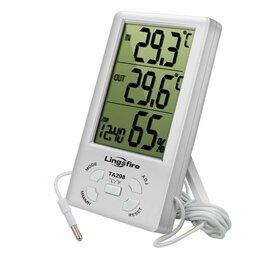Метеостанции, термометры, барометры - Универсальный цифровой термометр-гигрометр TA298, 0