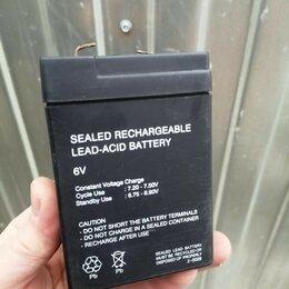 Блоки питания - Батарея 6V, свинцово-кислотная , 0