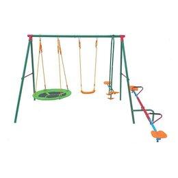Гимнастические снаряды и спортивные комплексы - Детский уличный комплекс DFC MSW-01, 0