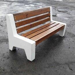 Железобетонные изделия - Скмейка бетонная уличная, 0