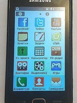 Мобильные телефоны - Samsung GT-S5250 рабочий, 0