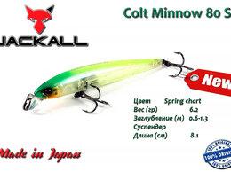 Приманки и мормышки - Jackall Colt Minnow 80 SP цв. Spring chart, 0