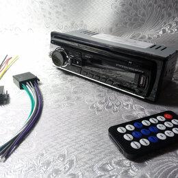 Музыкальные центры,  магнитофоны, магнитолы - Автомагнитола радио Bluetooth FM, mp3, USB, AUX SD, 0