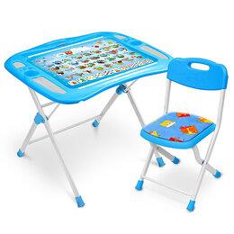 Кровати - Комплект детской складной мебели Ника NKP1, Азбука, 0