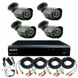 Камеры видеонаблюдения - Комплект видеонаблюдения для дома на 4 камеры  Full HD 2Мп, 0