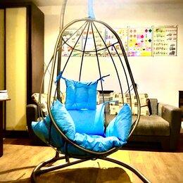 Подвесные кресла - Кресло-кокон подвесное со стойкой и подушкой, 0