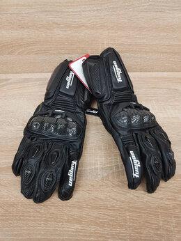 Мотоэкипировка - Мото перчатки краги Кожа Карбоновая защита длинные, 0