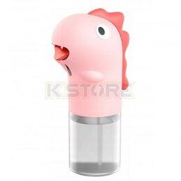 Мыльницы, стаканы и дозаторы - Сенсорный дозатор для мыла Baseus Minidinos Pink…, 0
